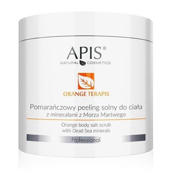 APIS Orange terApis pomarańczowy peeling solny z minerałami z Morza Martwego do ciala 700 g