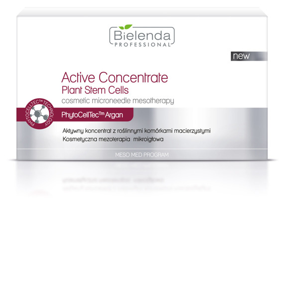 Bielenda Aktywny koncentrat z roślinnymi komórkami macierzystymi 10x3ml