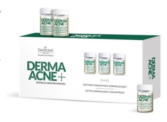 Farmona DermaAcne+ Aktywny Koncentrat Normalizujący 5x5ml